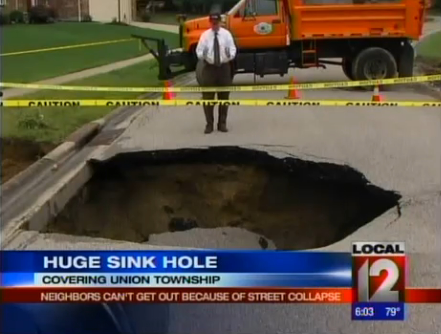 Union Township, Ohio. June 22nd, 2011. | thesinkhole.union township