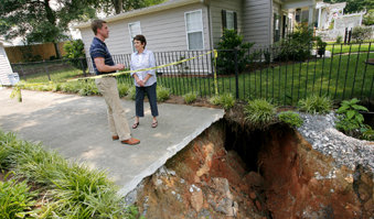 marrietta GA sinkhole